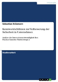 Cover Kennwortrichtlinien zur Verbesserung der Sicherheit in Unternehmen