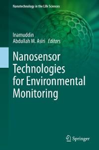 Cover Nanosensor Technologies for Environmental Monitoring
