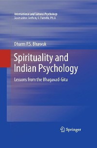 Cover Spirituality and Indian Psychology