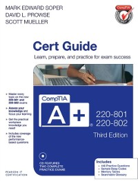 Cover CompTIA A+ 220-801 and 220-802 Cert Guide