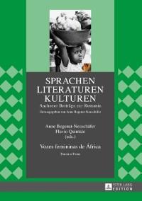 Cover Vozes femininas de Africa