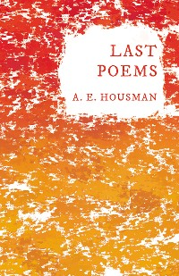 Cover Last Poems
