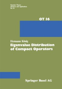 Cover Eigenvalue Distribution of Compact Operators