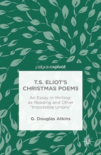 Cover T.S. Eliot's Christmas Poems