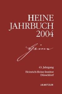 Cover Heine-Jahrbuch 2004