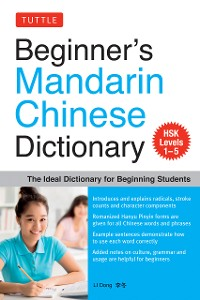 Cover Beginner's Mandarin Chinese Dictionary