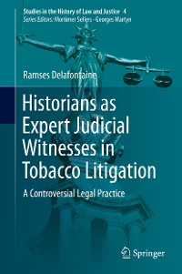 Cover Historians as Expert Judicial Witnesses in Tobacco Litigation
