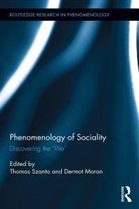 Cover Phenomenology of Sociality
