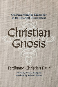 Cover Christian Gnosis