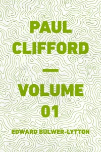 Cover Paul Clifford - Volume 01