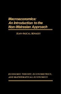 Cover Macroeconomics: An Introduction to the Non-Walrasian Approach