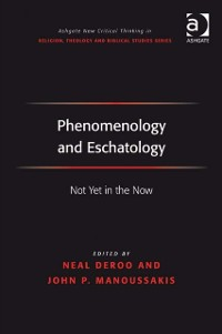 Cover Phenomenology and Eschatology