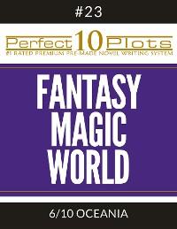 "Cover Perfect 10 Fantasy Magic World Plots #23-6 ""OCEANIA"""