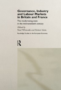 Cover Governance, Industry and Labour Markets in Britain and France