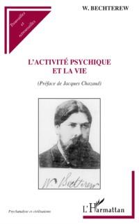 Cover L'Activite psychique et la vie