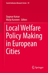 Cover Local Welfare Policy Making in European Cities