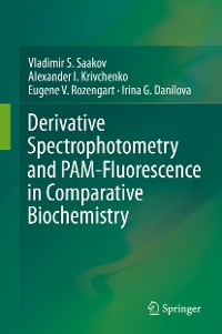 Cover Derivative Spectrophotometry and PAM-Fluorescence in Comparative Biochemistry