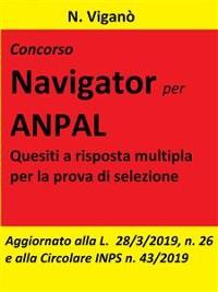 Cover Concorso Navigator per ANPAL.  1360 Quesiti per la prova selettiva