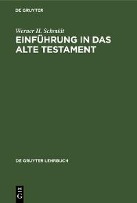 Cover Einführung in das Alte Testament
