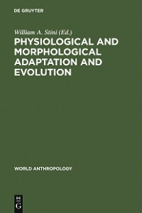 Cover Physiological and Morphological Adaptation and Evolution