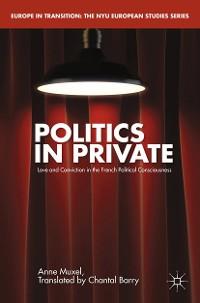Cover Politics in Private