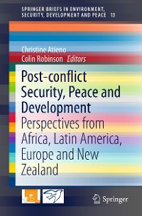 Cover Post-conflict Security, Peace and Development