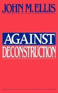 Cover Against Deconstruction