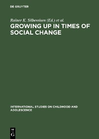 Cover Growing up in Times of Social Change