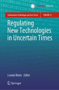 Cover Regulating New Technologies in Uncertain Times
