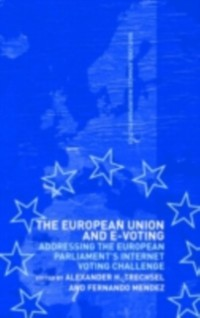 Cover European Union and E-Voting (Electronic Voting)