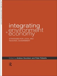 Cover Integrating Environment and Economy