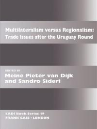 Cover Multilateralism Versus Regionalism