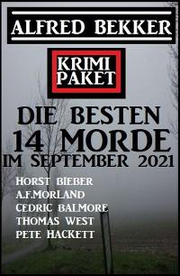 Cover Die besten 14 Morde im September 2021: Krimi Paket