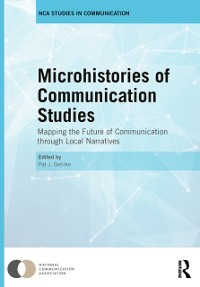 Cover Microhistories of Communication Studies