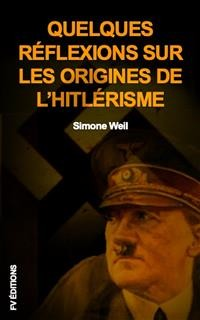 Cover Quelques réflexions sur les origines de l'hitlérisme