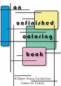Cover an unfinished coloring book