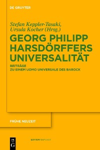 Cover Georg Philipp Harsdörffers Universalität