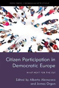 Cover Citizen Participation in Democratic Europe