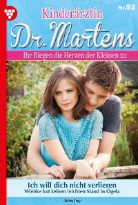 Cover Kinderärztin Dr. Martens 92 – Arztroman