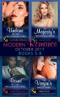 Cover Modern Romance Collection: October 2017 5 - 8 (Mills & Boon e-Book Collections)