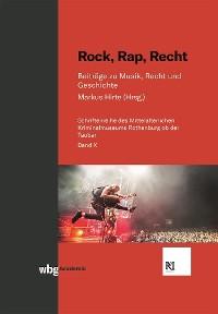 Cover Rock, Rap, Recht