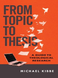 Cover From Topic to Thesis