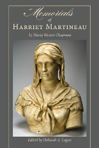 Cover Memorials of Harriet Martineau by Maria Weston Chapman