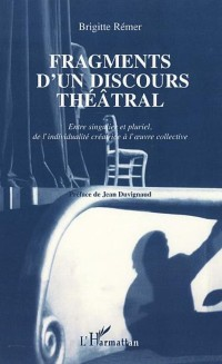 Cover FRAGMENTS D'UN DISCOURS THEATRAL