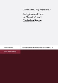 Cover Religion and Law in Classical and Christian Rome