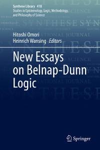 Cover New Essays on Belnap-Dunn Logic