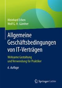 Cover Allgemeine Geschäftsbedingungen von IT-Verträgen