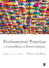 Cover Professional Practice in Counselling and Psychotherapy