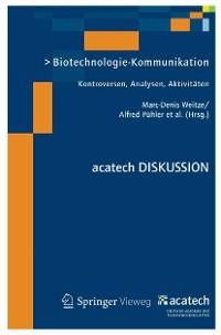 Cover Biotechnologie-Kommunikation