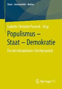 Cover Populismus – Staat – Demokratie